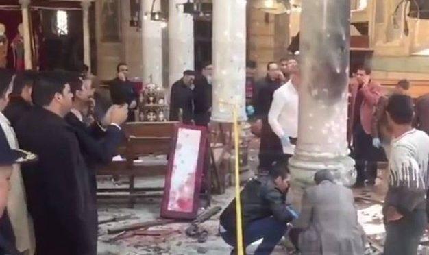 STRAGE DI CRISTIANI: BOMBA IN CHIESA