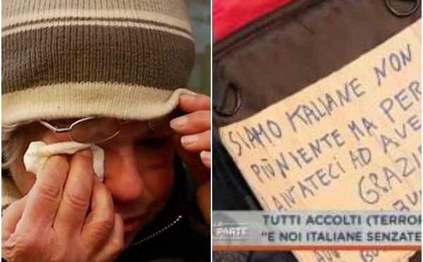 Natale a Milano: al freddo al gelo per Rita e Antonella – VIDEO