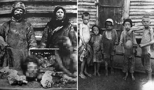 URSS, 1920: QUANDO I COMUNISTI MANGIARONO I BAMBINI, PER FAME