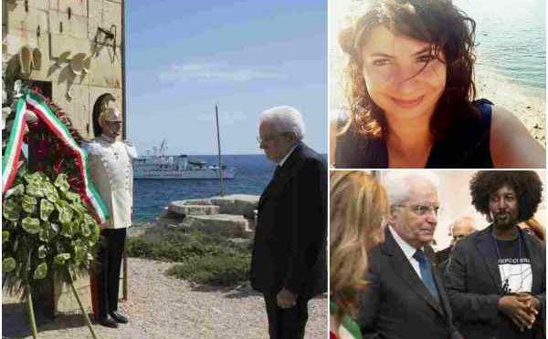 Mattarella svergognato: da Lampedusa al funerale di Fabrizia