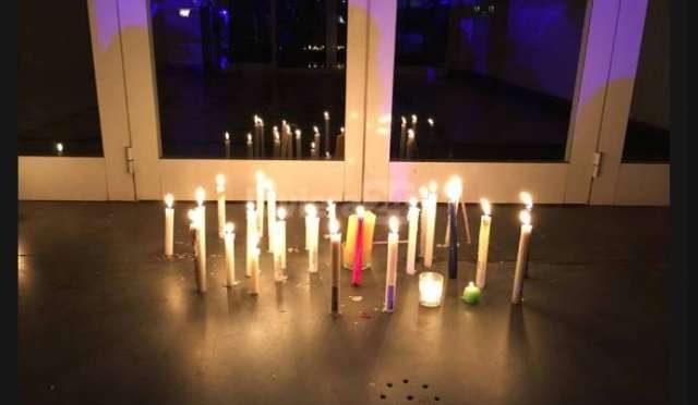 In coma 'grazie' a profugo: silenziosa protesta delle candele a Ventimiglia