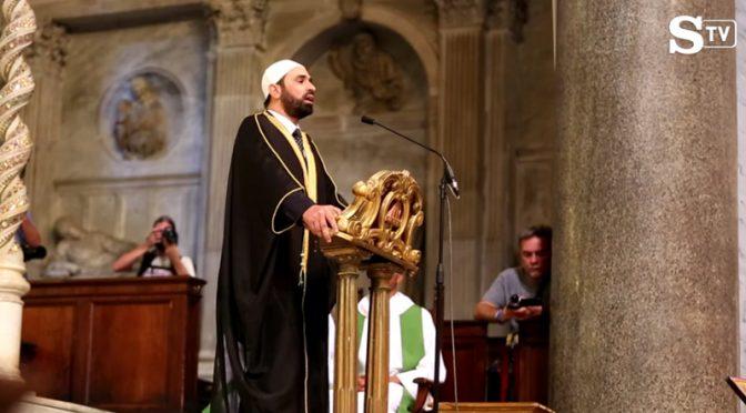 Chiese italiane trasformate in moschee dove Imam recitano Corano