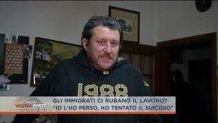 Suo lavoro finisce ai profughi, tenta suicidio – VIDEO