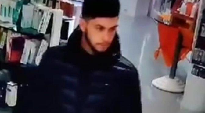 Furto in farmacia, ricompensa per chi aiuta a trovare ladro – VIDEO