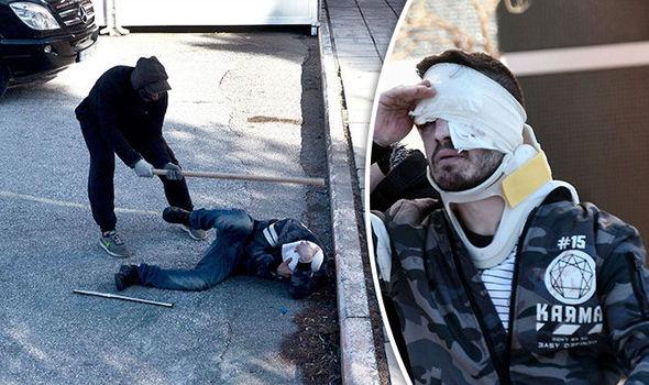 PROTESTA CONTRO ARRIVO PROFUGHI, MASSACRATO A BASTONATE – VIDEO CHOC