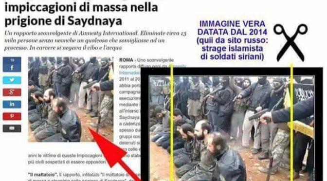 Repubblica: 2 bufale in 2 giorni, la foto falsa