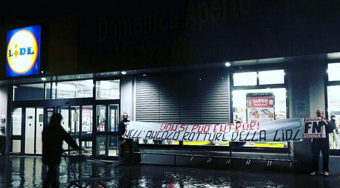 Caso LIDL, proteste da tutta Italia: presidio a Grosseto