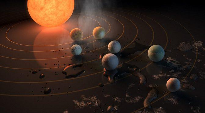 Nasa scopre 7 pianeti gemelli della Terra a soli 39 anni luce – VIDEO – MAPPE