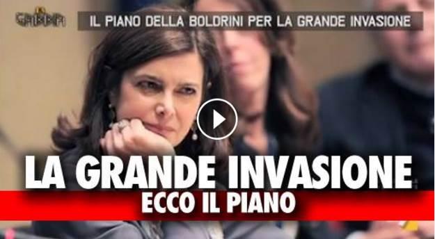 """Boldrini parla di Manchester, contestata: """"Vai alla marcia, imbecille"""", rissa social"""