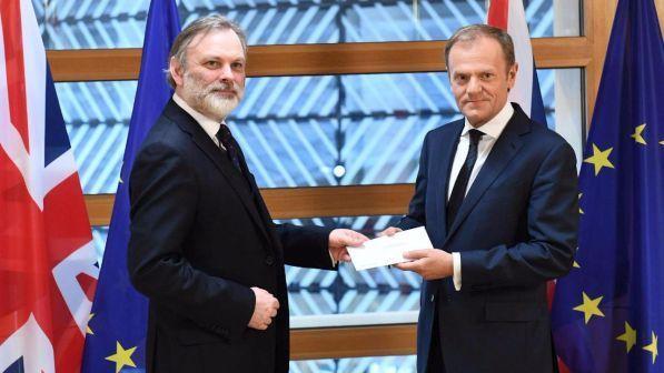 """Brexit, ambasciatore Gb consegna lettera a UE: """"Siamo liberi"""""""