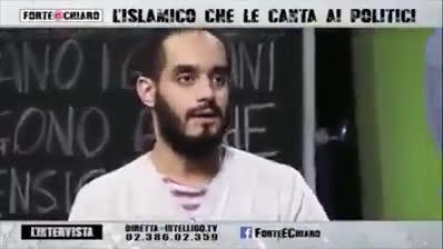 """Islamico anti-Crocifisso nelle scuole: """"Diseducativo quel coso morto"""" – VIDEO"""