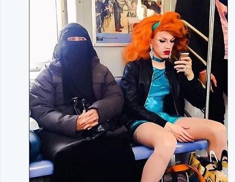 Declino Occidente sulla metro – FOTO