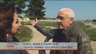 Quest'uomo aveva una casa, se la sono presa i Rom – VIDEO