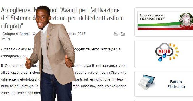 "BANDO CHOC: """"Per ogni profugo 17 mila euro"""