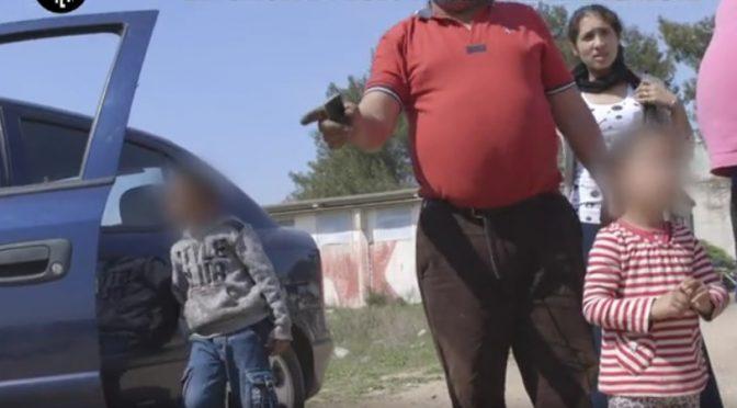 Rom liberano masseria Luigi, ma prima la distruggono e si trasferiscono in villa – VIDEO