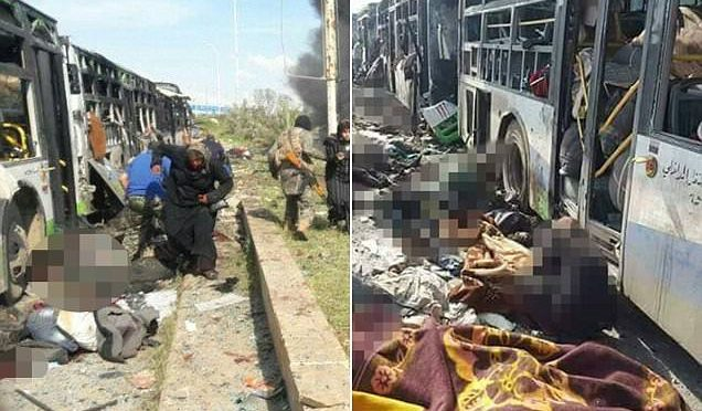 SIRIA: TERRORISTI ISLAMICI MODERATI FANNO STRAGE DI CIVILI – VIDEO