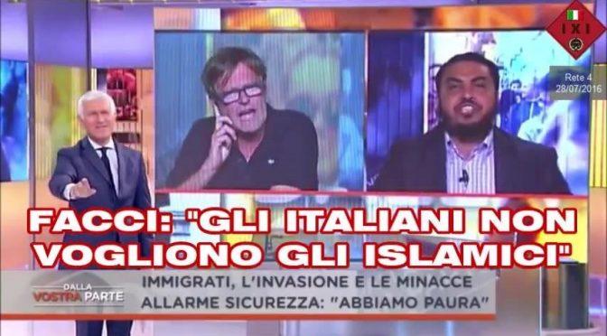 """Giornalisti difendono Facci: """"Lecito odiare Islam"""""""