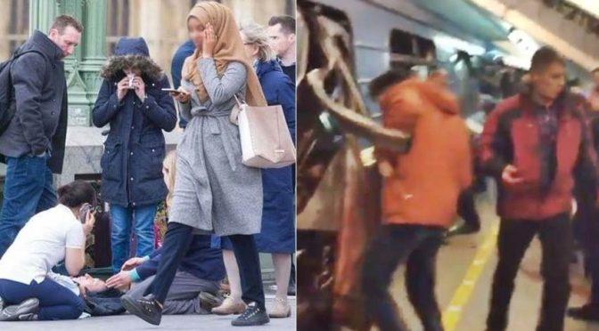 SAN PIETROBURGO E LONDRA, NOTATE LE DIFFERENZE – VIDEO