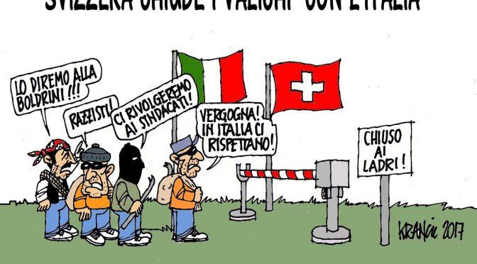 PROFUGO ARMATO DI COLTELLO RAPINA SUPERMERCATO, BLOCCATO DA ITALIANO
