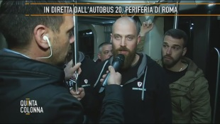 Roma fuori controllo: ronde patrioti nei bus – VIDEO