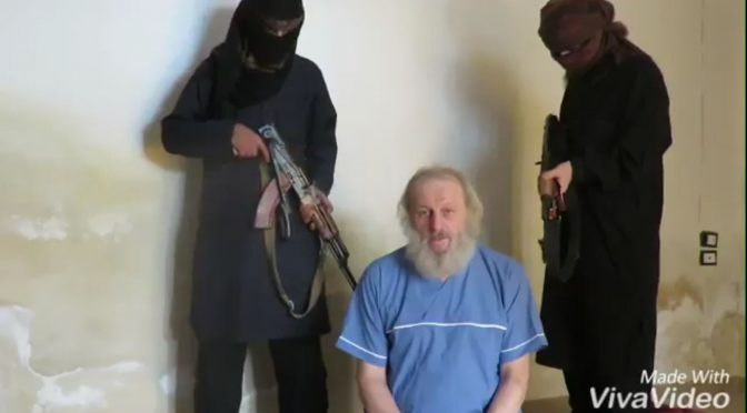 Nuovo appello di Sergio Zanotti, l'italiano rapito in Siria – VIDEO