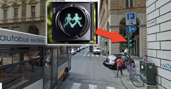 Torino: arrivano i semafori gay