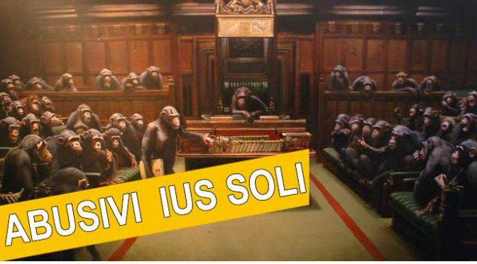 Ius Soli e un parlamento senza vergogna