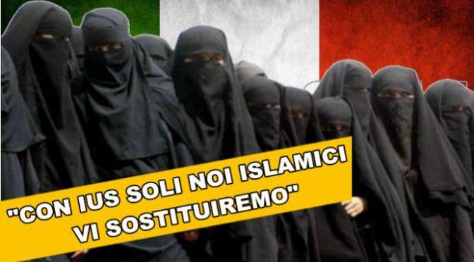 """Capo Islamici interviene su Ius Soli: """"Sostituiremo noi gli Italiani"""" – VIDEO"""