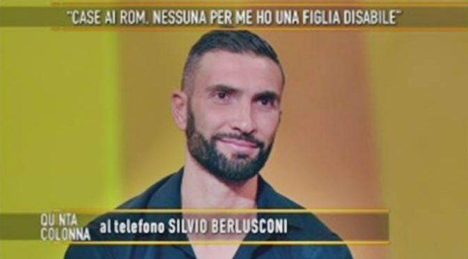Bimba disabile cacciata per dare casa ai Rom, interviene Berlusconi – VIDEO