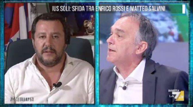 """Governatore Toscana delira: """"Assumere Italiani è razzismo"""" – VIDEO CHOC"""