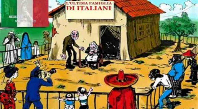 GENOCIDIO: PER OGNI IMMIGRATO CHE SBARCA NASCONO MENO DI 2 BAMBINI ITALIANI