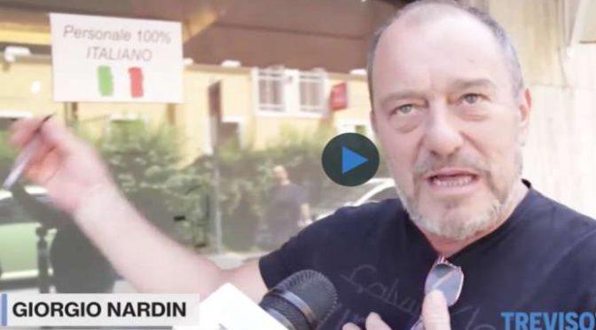 Parla ristoratore perseguitato dal PD perché assume solo Italiani – VIDEO