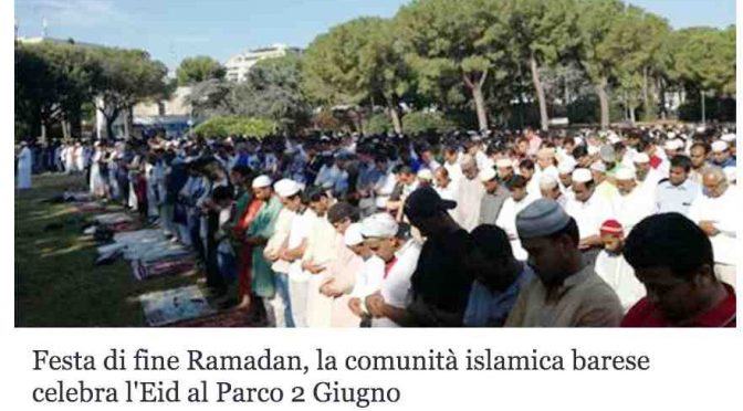 A Bari nascerà la più grande moschea del Sud: finanziatori segreti