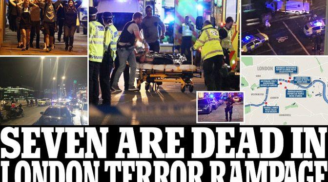 """LONDRA, TERRORISTI URLAVANO: """"QUESTO E' PER ALLAH"""" – DIRETTA VIDEO"""