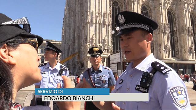 """Poliziotti cinesi a Milano: """"C'è difficoltà di comunicazione"""" – VIDEO"""