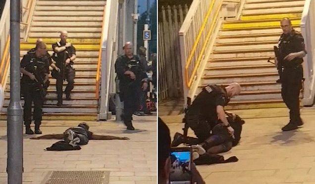 """LONDRA, SOSPETTO BLOCCATO SUL TRENO: """"SONO DI ISIS"""" – VIDEO"""