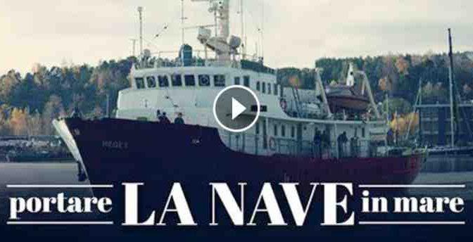 ECCO LA NAVE DEI PATRIOTI CHE RESPINGERA' CLANDESTINI IN LIBIA