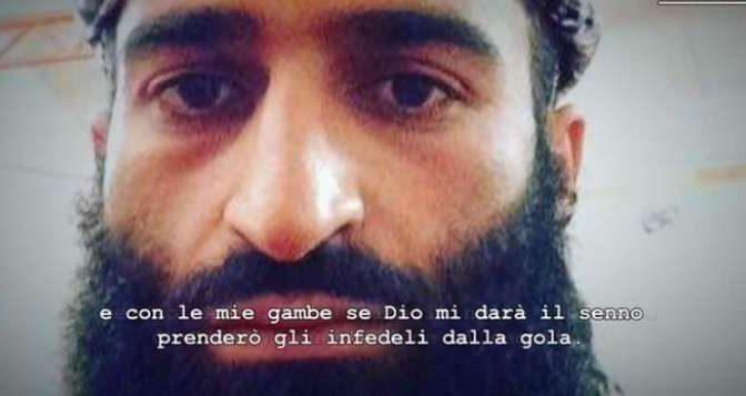 """L'intercettazione choc del profugo: """"Italiani impuri, possiamo solo tagliargli la gola"""""""