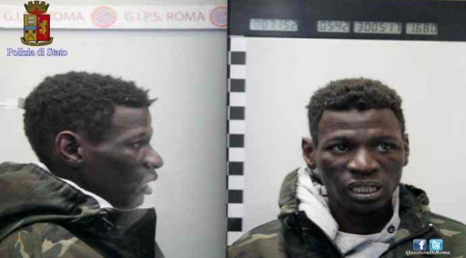 """Polizia: """"Questo Africano ha molestato anche voi?, telefonateci"""" – FOTO"""