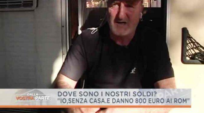 Roma alla rovescia: case ai Nomadi, Italiani in camper – VIDEO