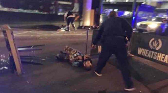 LONDRA, ECCO I 2 TERRORISTI ISLAMICI ABBATTUTI – FOTO