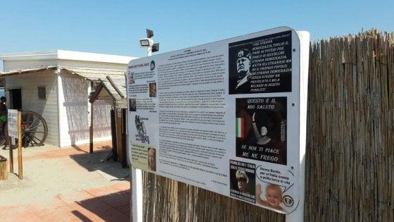 Scoop di Repubblica a Chioggia: la spiaggia 'fascista'