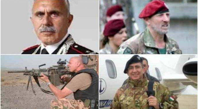 """I 4 GENERALI IN RIVOLTA CONTRO GOVERNO: """"FERMARE IMMIGRAZIONE"""""""