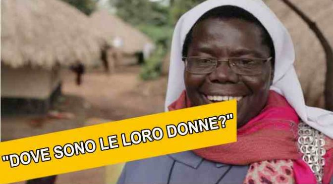Suor Rosemary ridicolizza chi accoglie: «Ma non vedete che sbarcano solo uomini?»
