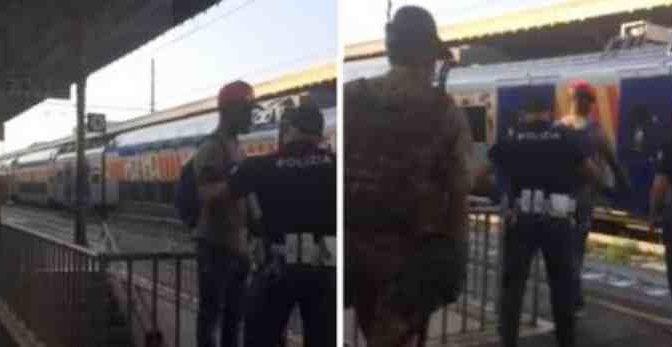 POLIZIOTTO LINCIATO DA ONG PERCHE' CACCIA CLANDESTINO SENZA BIGLIETTO DA STAZIONE – VIDEO