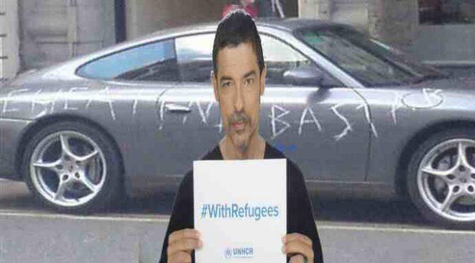 Affitta casa ai profughi, cittadini gli vandalizzano auto