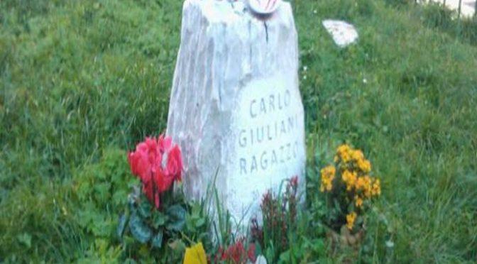 """Polizia in rivolta contro monumento a Giuliani: """"Lo abbatteremo a picconate"""""""