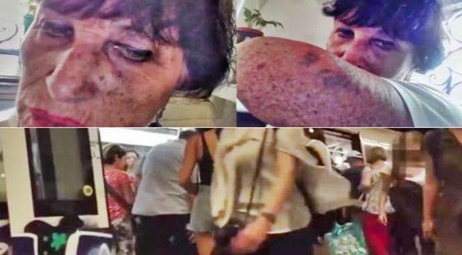 La Zingara che ha massacrato donna in metro è già tornata a rubare!