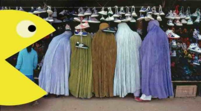 "Pac-Man vietato in Turchia perché ""mangia donne in burqa"""