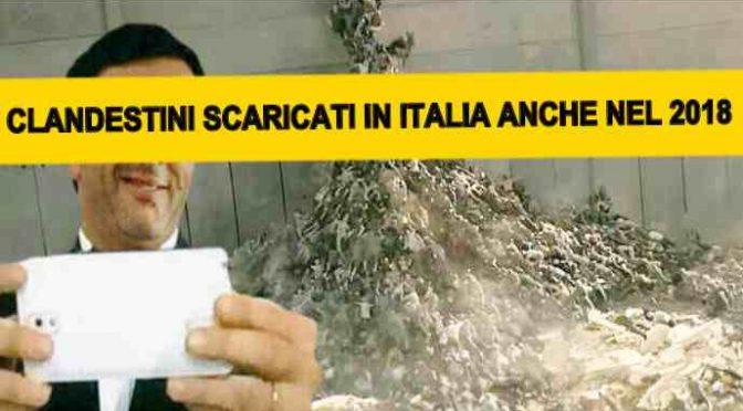 NAVI STRANIERE SCARICHERANNO CLANDESTINI IN ITALIA ANCHE NEL 2018